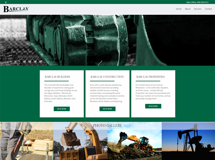 Barclay Companies Website