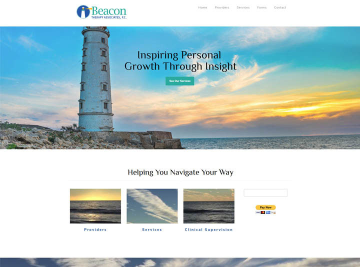 Beacon Therapy Associates Website