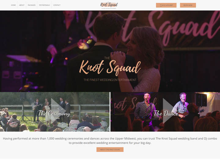 The Knot Squad Website
