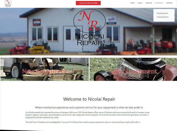Nicolai Repair Website