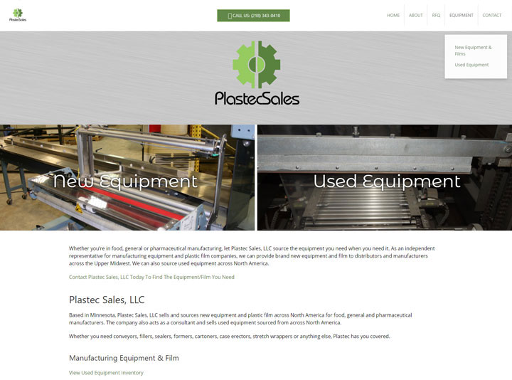 Plastec Sales Website
