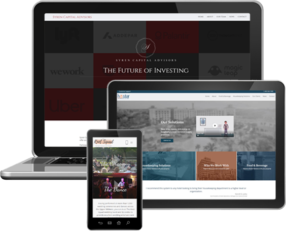 Trustdyx Responsive Website Design